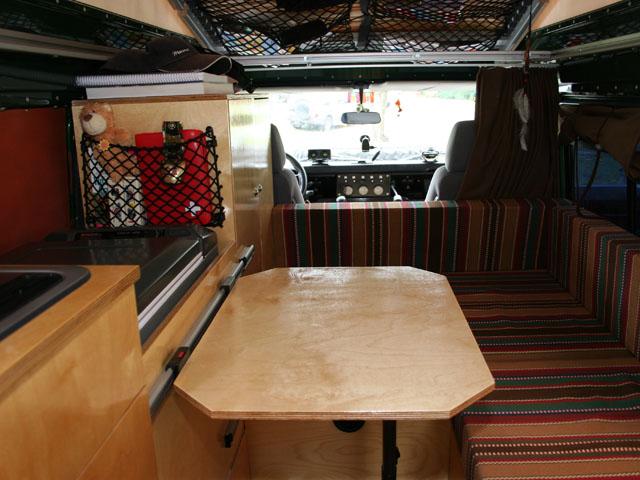 Weltreise | Land Rover 130 Tdi Innenausbau | Reisen Team Gaucho