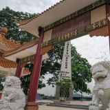 Das Monument to the Chinese in Panama City.
