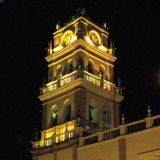 Kathedrale von Sucre by night
