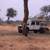 Wildes Camp im Moremi Game Reserve