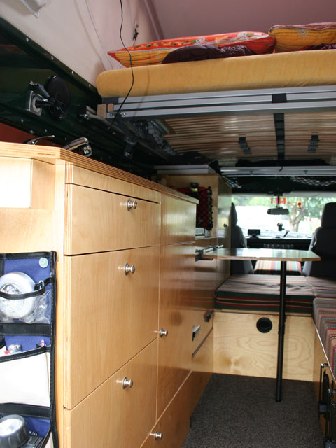 weltreise land rover 130 tdi innenausbau reisen team gaucho. Black Bedroom Furniture Sets. Home Design Ideas